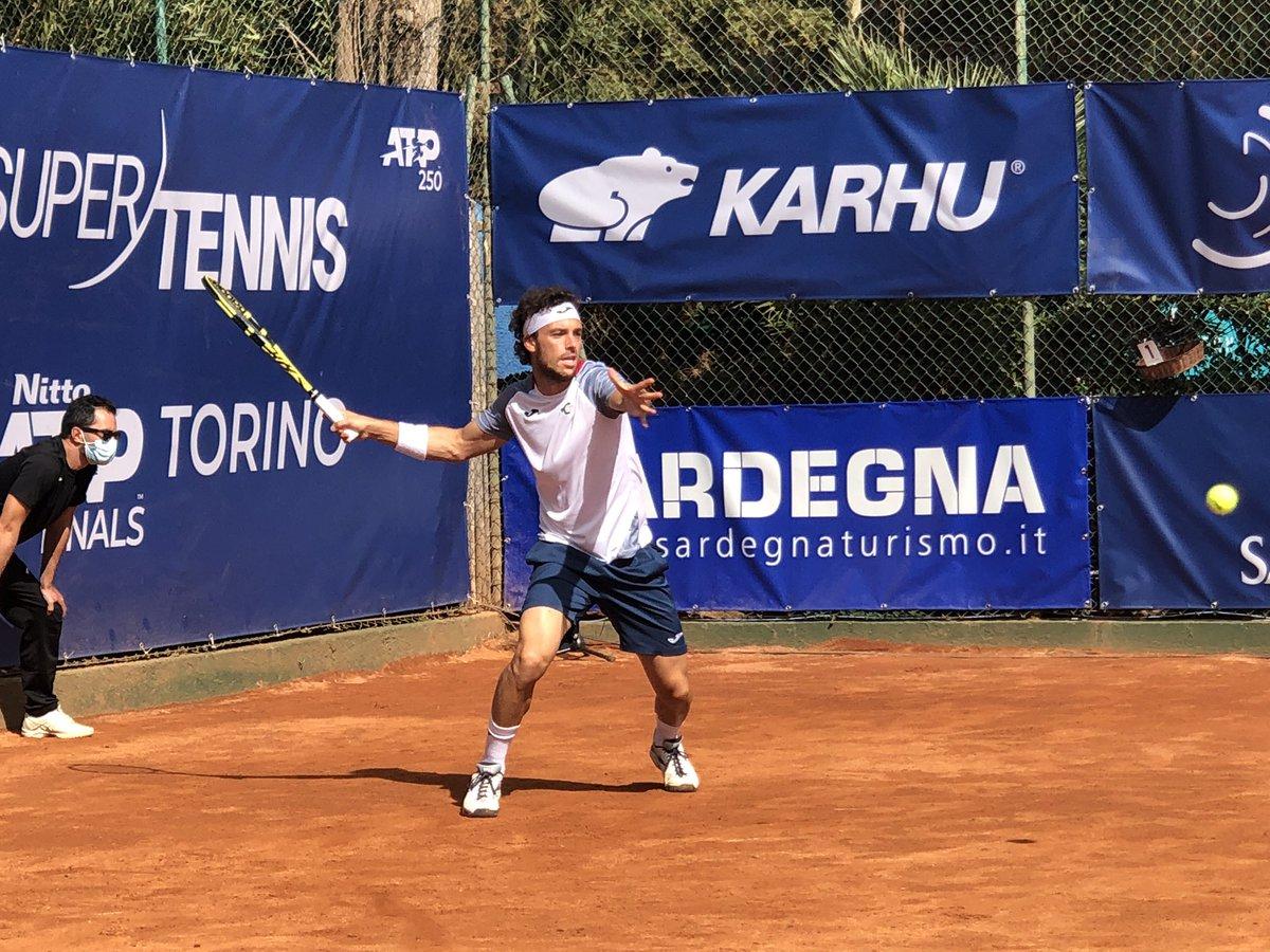 💪🏼 Cecchinato: è finale al Forte Village Sardegna Open!   Marco #Cecchinato Sconfigge #Petrovic 61 60 e domani affronterà #Djere!   #tennis https://t.co/Wic8nqYj7r