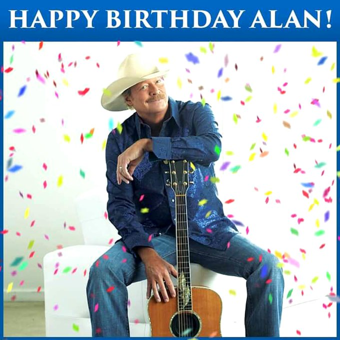 Alan Jackson happy birthday to the very best in country music..!