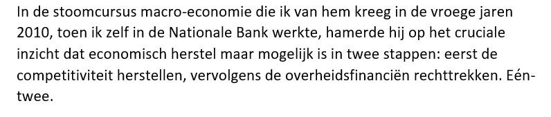 'Fons Verplaetse, een leven van cijfers'. @kristof_smeyers via @DoorbraakBe over de gouverneur van de Nationale Bank die nooit met pensioen ging. https://t.co/0zjmn7GkUA Citaat: https://t.co/bioTHux8RP