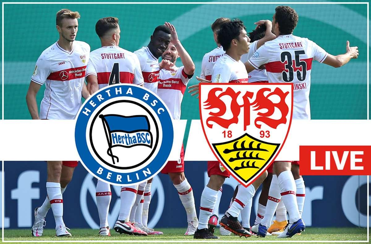 Ab gehts! Unser Liveticker zu #BSCVfB  https://t.co/3ConrUINNB https://t.co/715Q1jgGLL