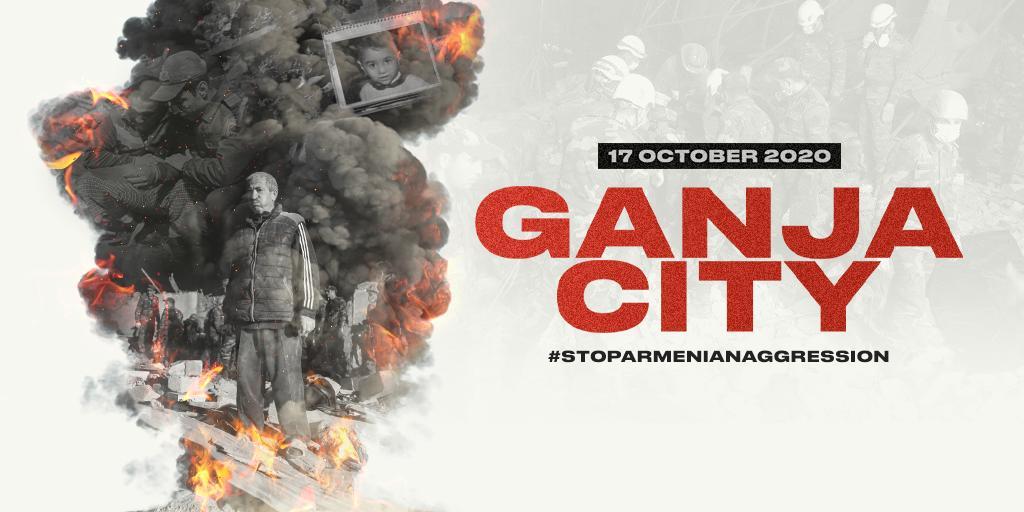 How #fascist can #Armenia get? #Fascist enough to bomb sleeping civilians. Ganja, October 17. #ArmeniaKillsCivilians #StopArmenianAggression #StopArmenianOccupation #GanjaCity #KarabakhisAzerbaijan