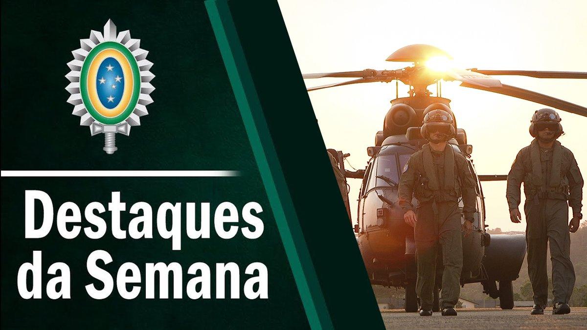 Exercício da Brigada Pára-quedista, arrecadação de brinquedos no sul do Brasil, 70 anos da Assistência Social do Exército e os 20 anos do Recrutinha, confira no Destaques desta semana: https://t.co/2mpUpeCXEj #DestaquesdaSemana https://t.co/5lLaWS2IwE