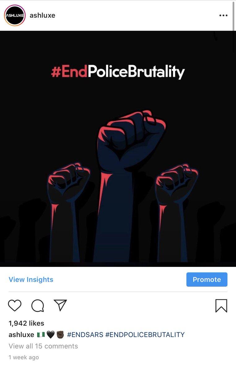 TOGETHER WE ARE UNBREAKABLE #ENDSARS #ENDPOLICEBRUTALITY #ENDBADGOVERNANCE