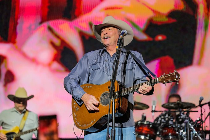 "We know it is ""Five O\ Clock Somewhere\"". Happy Birthday Alan Jackson!"