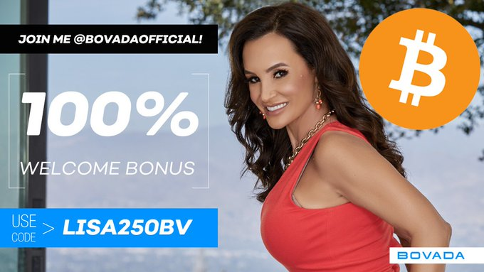 Play your way with your cryptocurrency @BovadaOfficial   Use My Promo Code: LISA250BV  #Bovada #Bitcoin