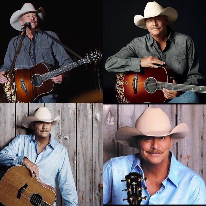 Happy 62 birthday to Alan Jackson. Hope that he has a wonderful birthday.
