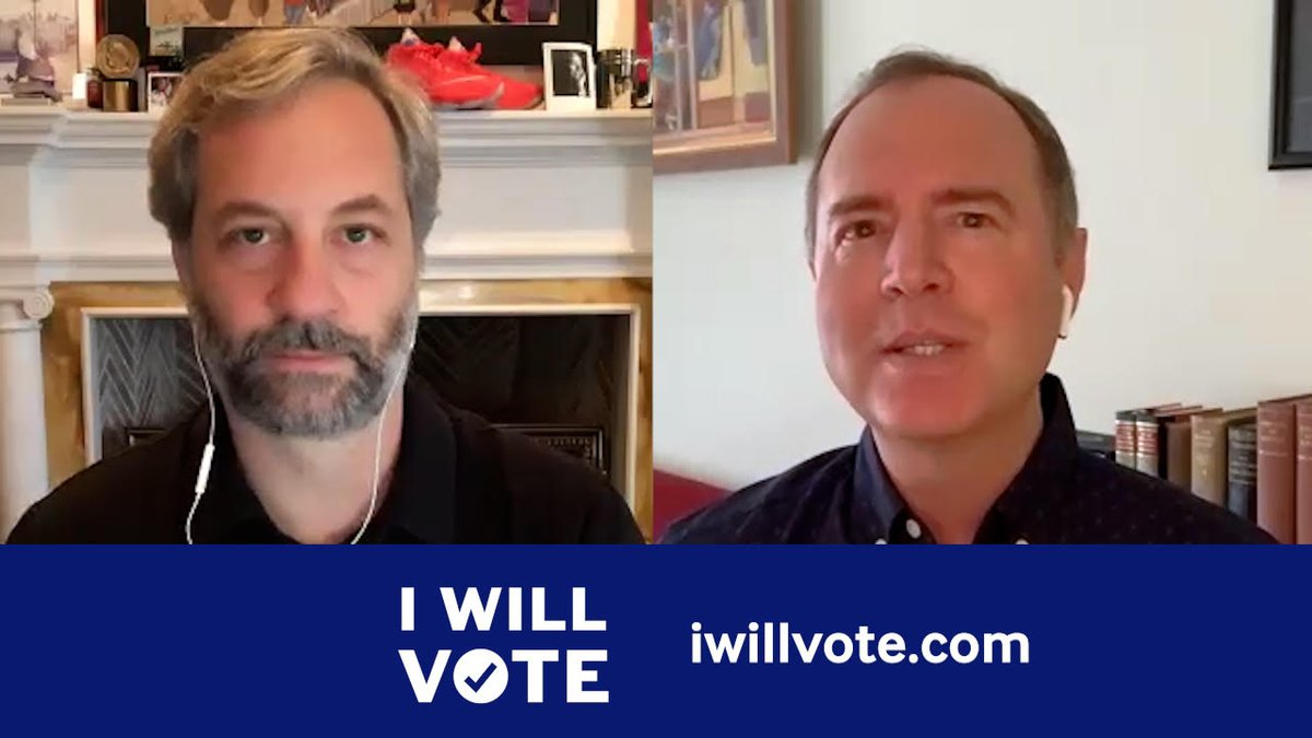 Filmmaker @JuddApatow and I have a message for every American: Vote. Register to vote. Make a plan to vote. And then vote. And best of all, we were able to deliver that message leveraging my personal brand of comedy — subversive, yet relatable. Vote: iwillvote.com