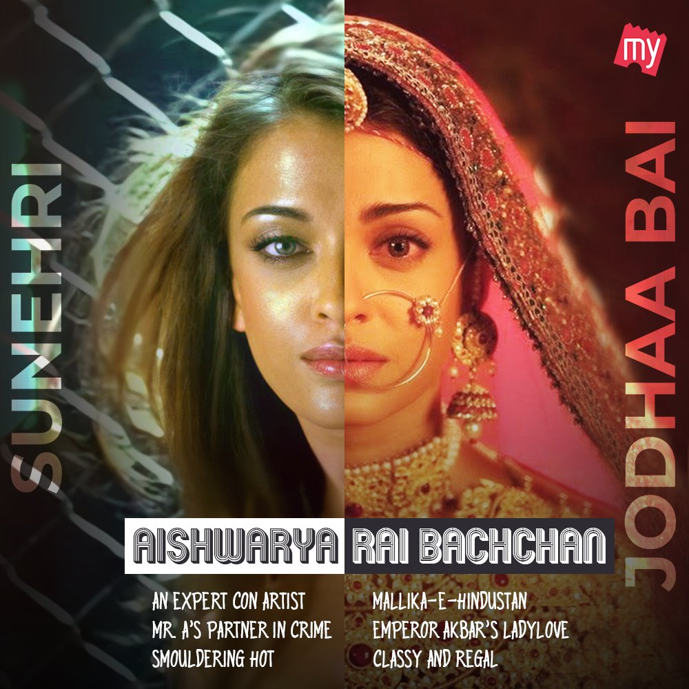 Sensuous or regal, #AishwaryaRaiBachchan is flawless in every avatar of hers. Which version of the actor is your favourite?  #Dhoom2 #JodhaaAkbar