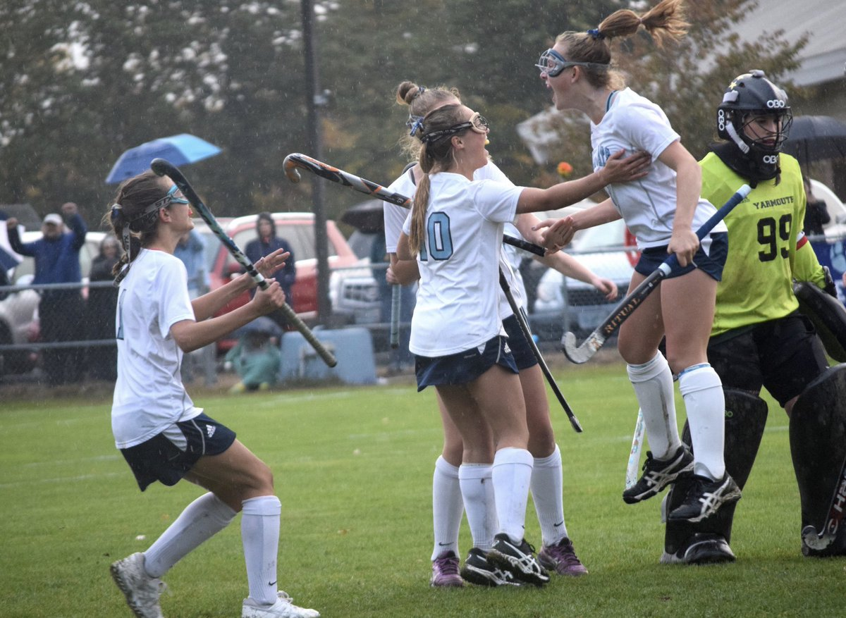 test Twitter Media - Today in Wildcat History 10.17.18:York advances to Class B Semi's 2-1 over Yarmouth. Bailey Oliver with 2 goals (assists to Emlyn Patry & Katie Donovan) leads great team effort in a hard fought game for the #1 seed Wildcats 🏑🏑 @YHSWildcats https://t.co/kaiPong4kS