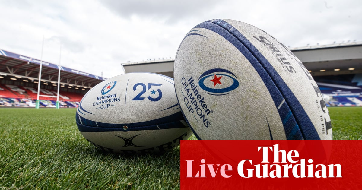 #Exeter v #Racing92: European #ChampionsCup final – live! https://t.co/D3PEgT5U9E https://t.co/8Fn8Bil2RS