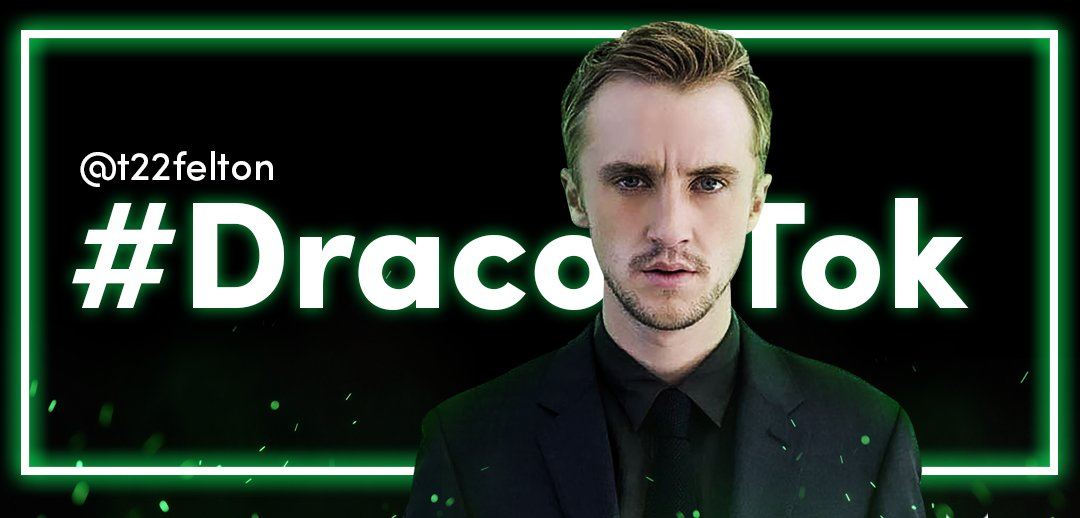 calling all muggles! share a #DracoTok and you might just get a reply from Draco…err @TomFelton, himself