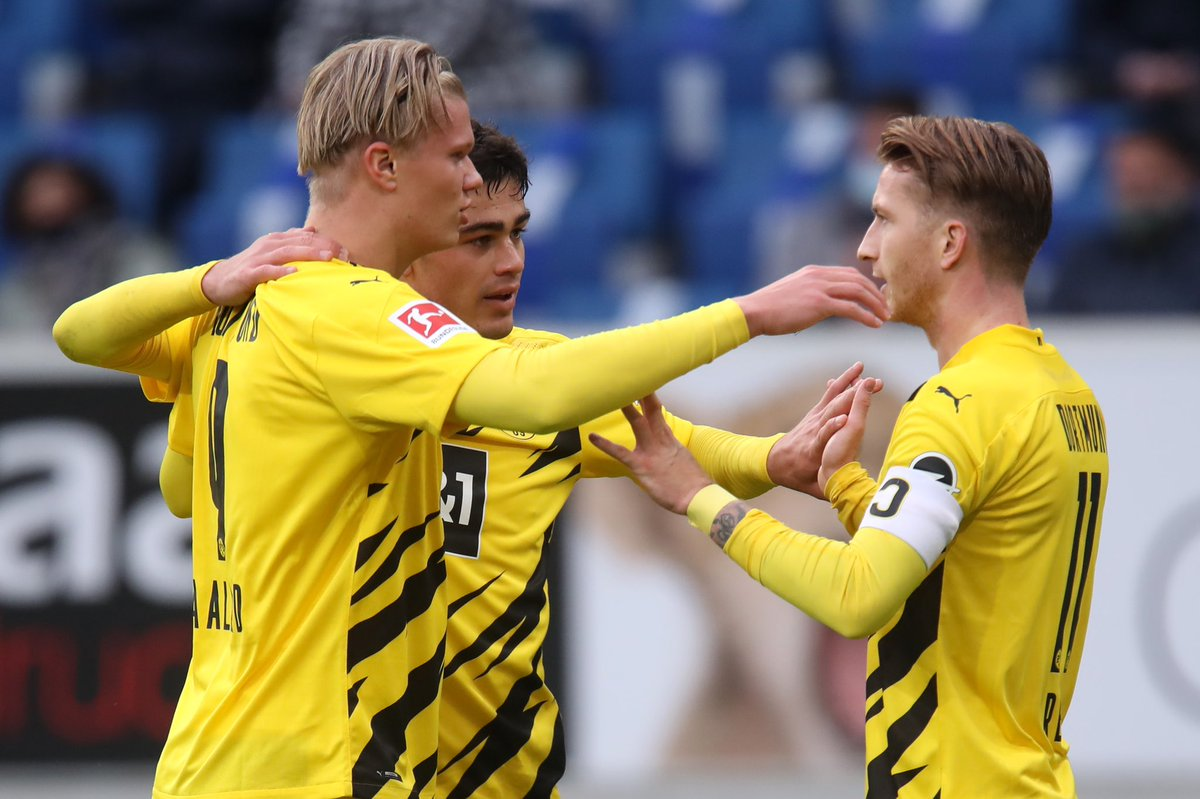 Good return back to 🟡⚫️ and a good win! 🤘🏻 @BVB