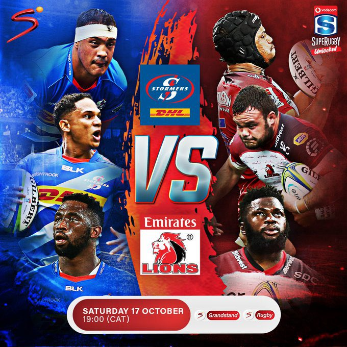 In a jam-packed sports weekend, #SuperRugbyUnlocked is set to blaze onto SuperSport Rugby at 18:55 this evening. It's the #Stormers Vs #Lions. https://t.co/6Y45fFxf08