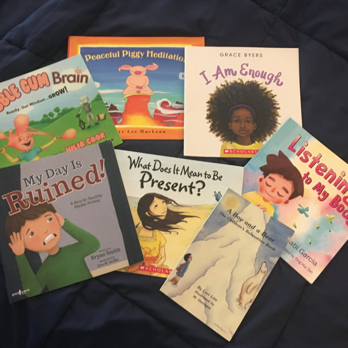 Some of my favorite books for social-emotional learning with my elementary kiddos!