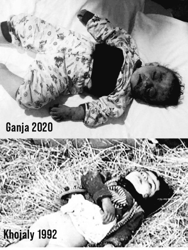 Maybe you see this photo for the first time, but Azerbaijanis have been living with the same photo for 30 years. Armenia murdering babies in Hocalı 30 years ago continues to do the same. If there are humans who can see this view and keep silent, then keep! We won't be quiet! https://t.co/BQJzY9RHmS