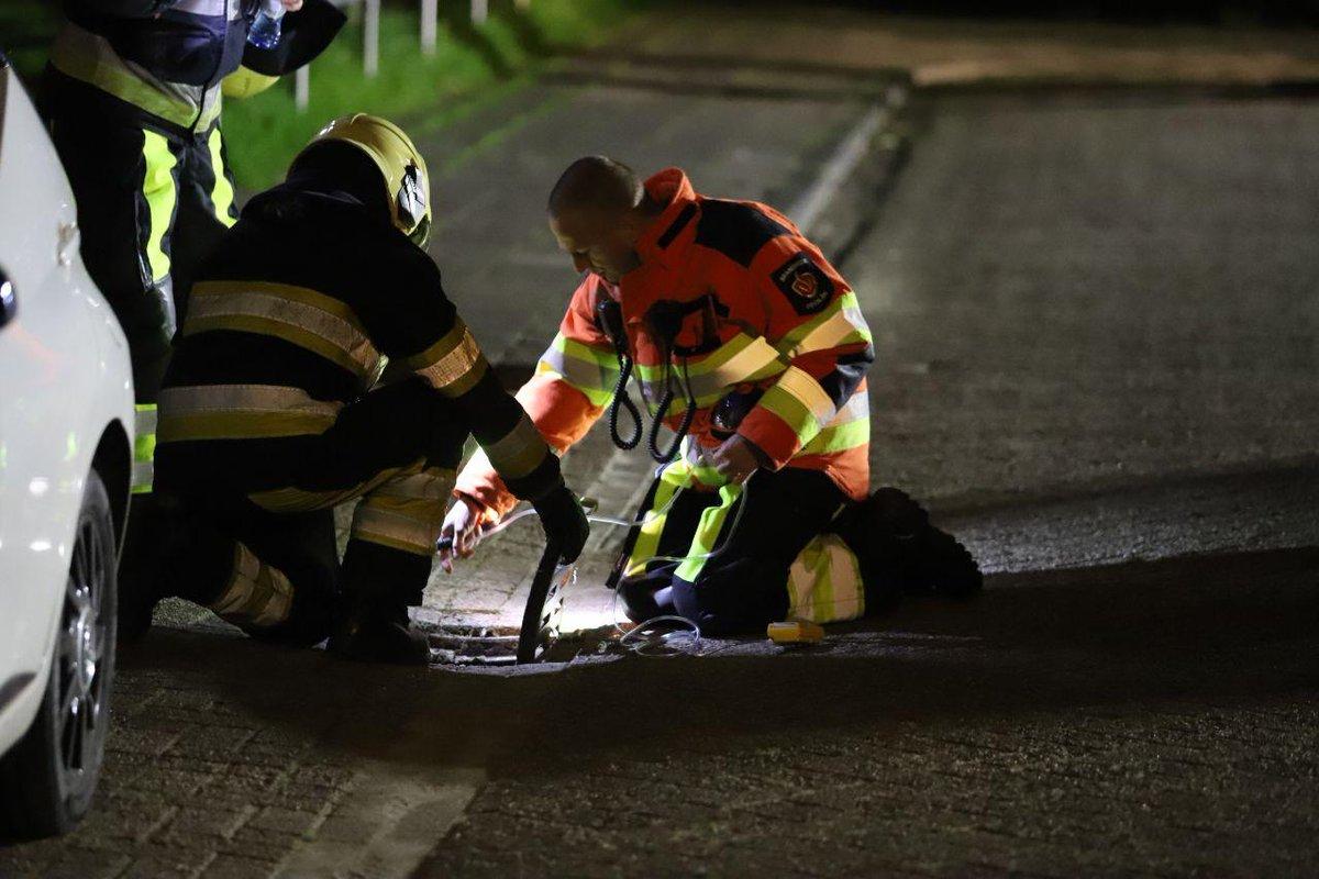 Brandweer en Liander rukken uit voor benzinelucht op de Alferhof -.