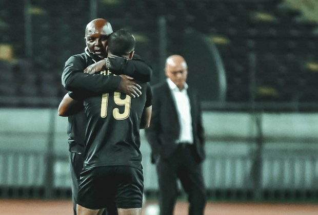 Pitso Mosimanes Al Ahly secured a 2-0 win over Wydad Casablanca in the first leg of the CAF Champions League semi-final. #SLSiya Read more: bit.ly/31hu1SC