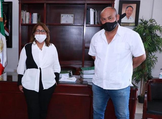 Reconoce alcaldesa de Cárdenas a la asociación CEFOR Down, ganadores del Premio Estatal del Deporte