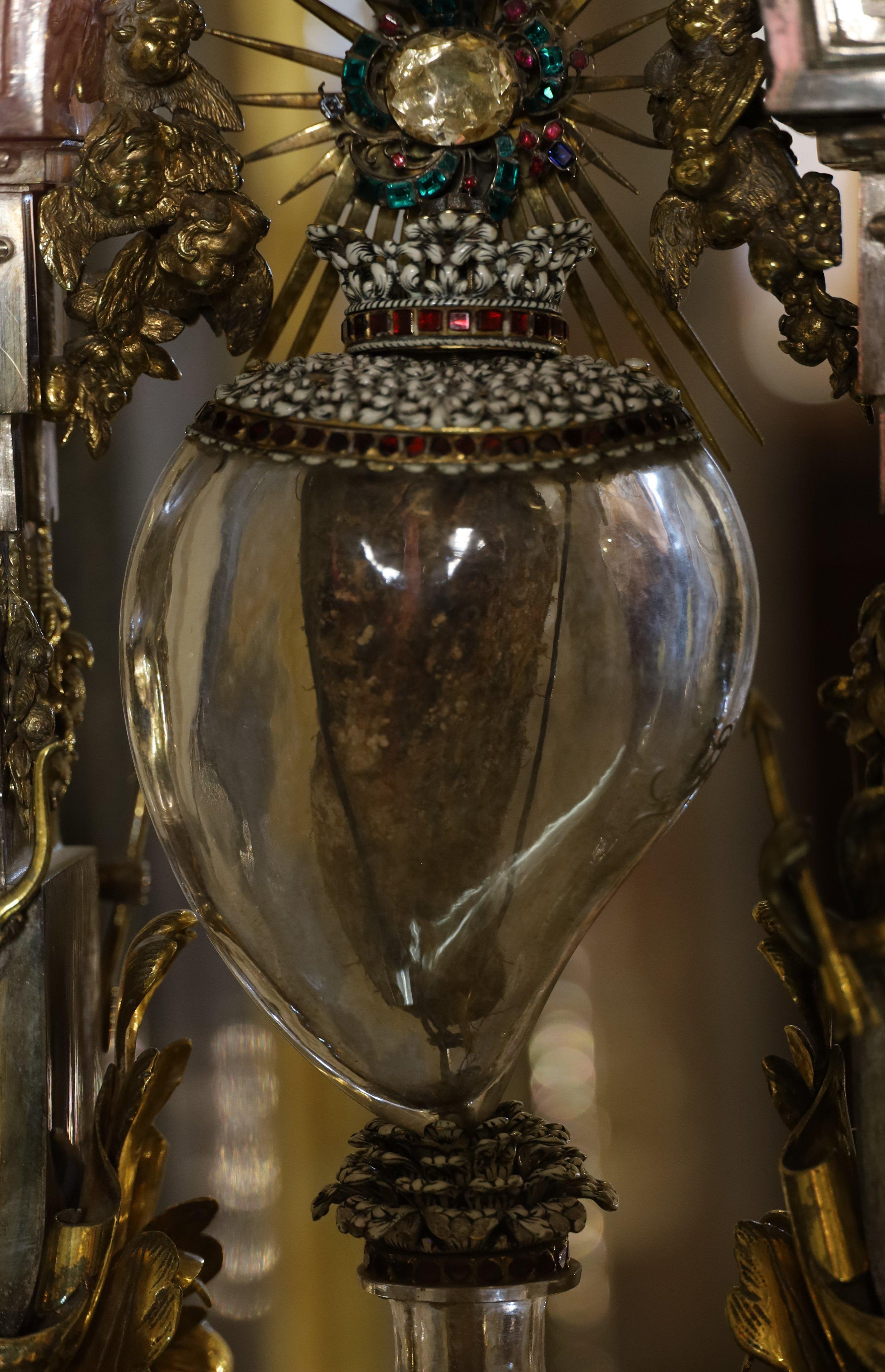 O coração de Santa Teresa d'Ávila