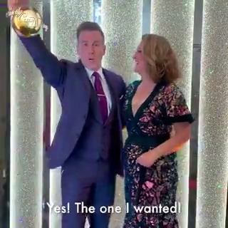 Its a match made in heaven. @Jacqui_Smith1 and @TheAntonDuBeke are your next #Strictly pairing!