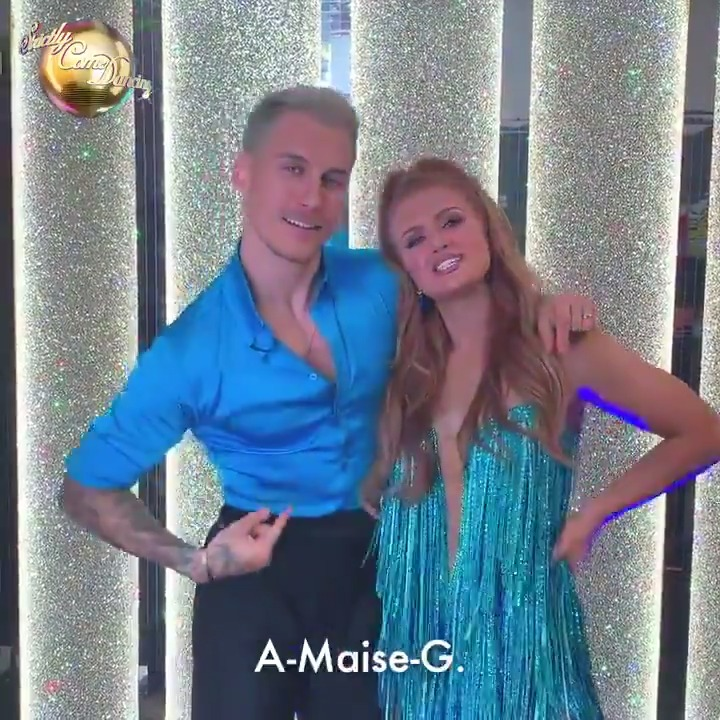 Team A-Maise-G already look amazing together! Who cant wait to see @maisie_smith_ and @gorkamarquez1 on the dancefloor? 😍 #Strictly