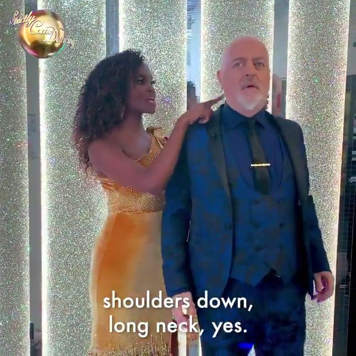 Name a more iconic duo than Bill Bailey and Oti Mabuse, well wait... #Strictly @BillBailey @OtiMabuse