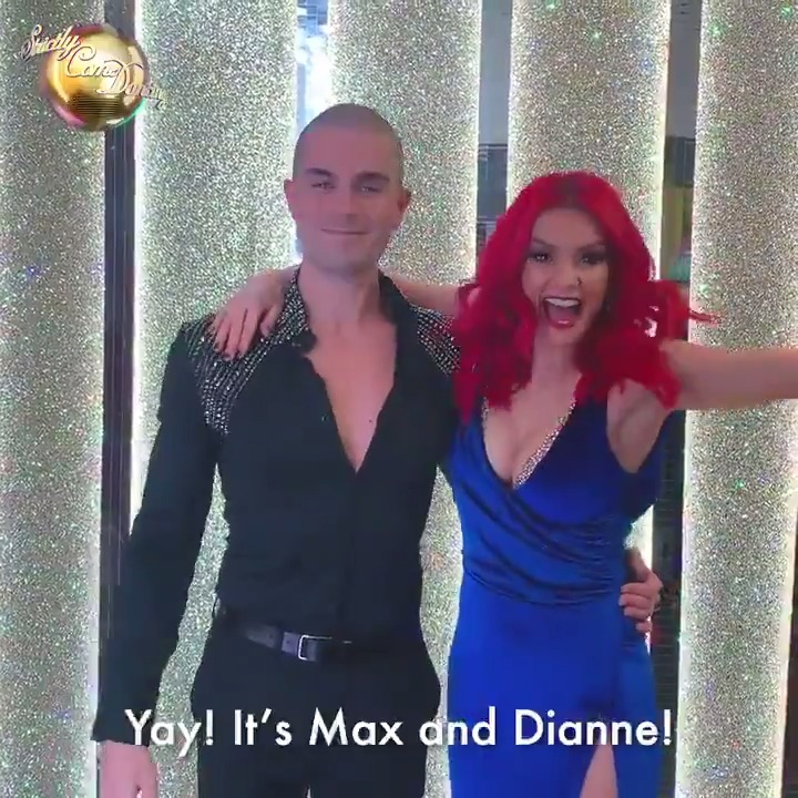 He asked for an Aussie redhead and we delivered! @MaxGeorge and @dbuzz6589 are your final #Strictly 2020 pairing.