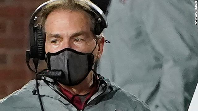 University of Alabama football coach Nick Saban is cleared to coach tonight's game against Georgia after testing negative for coronavirus three days in a row, the school says https://t.co/lCOwcLeCYW https://t.co/700qLUWnxV
