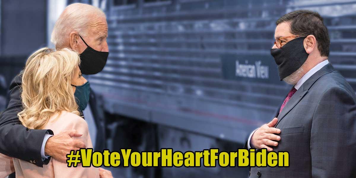 @TheDemCoalition's photo on #VoteYourHeartForBiden