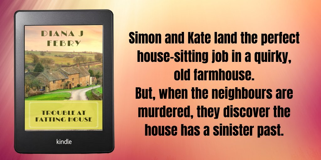 The second book in my new Trouble series. An enjoyable whodunnit. #stayhomesavelives #stayhomeandread #mystery mybook.to/FattingHouse