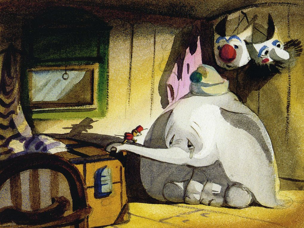 Have some gorgeous concept art from Dumbo.