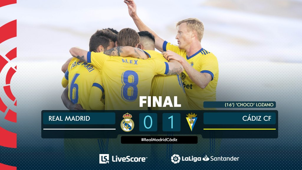 Real Madrid-Cadiz