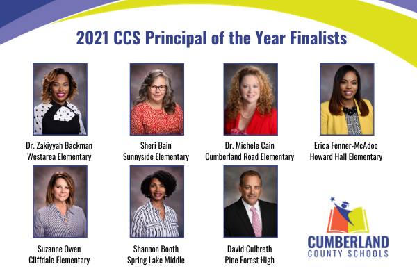 Congratulations to CCS 2021 Principal of the Year Finalists! Watch Monday, October 19 at 6:30 p.m. for our 2021 Administrators of the Year Virtual Celebration of Excellence in Leadership as we announce the winner! The event will be live-streamed at youtube.com/user/Cumberlan….