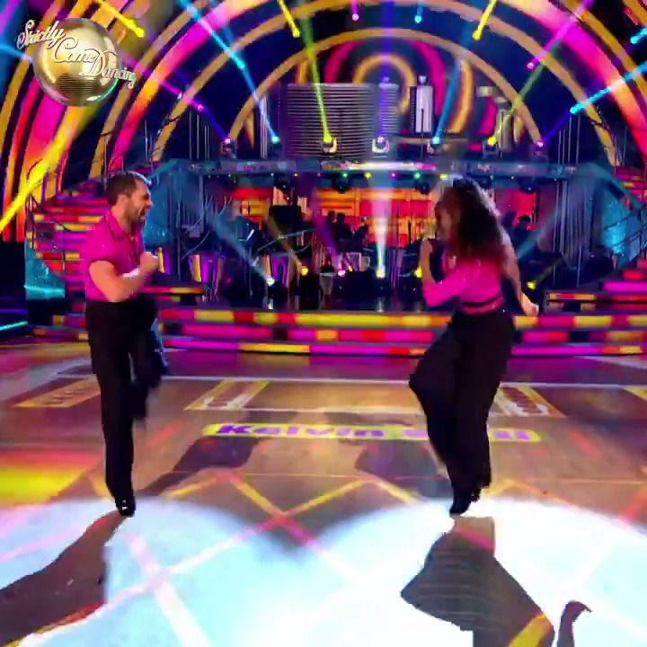The hips, the flying press-ups, the kicks and flicks... Its so good to have #Strictly champion @kelvin_fletcher back in the Ballroom with @OtiMabuse! 🏆