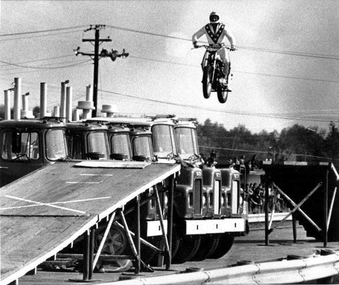 Room Rater Happy Birthday in Memoriam. Evel Knievel was born on this day in 1938.