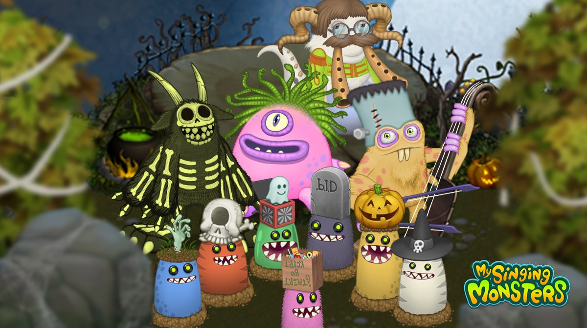 My Singing Monsters On Twitter There S Lots For The Monsters To Love During Spooktacle The Sweet Treats The Frightful Tricks And Of Course The Spooktacle Costumes Whose Spooktacle Costume Would You Wear