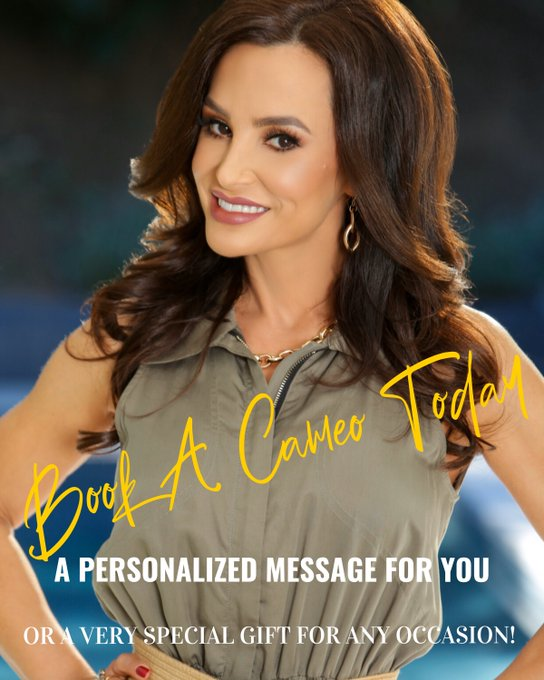 Join the fun @BookCameo I love shooting the personal messages for all occasions! Get one as a gift or