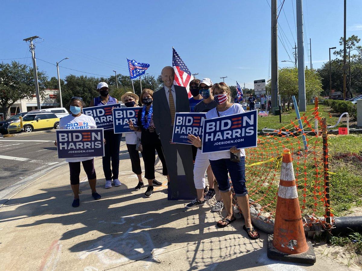 @funder Florida for Biden! #VoteYourHeartForBiden