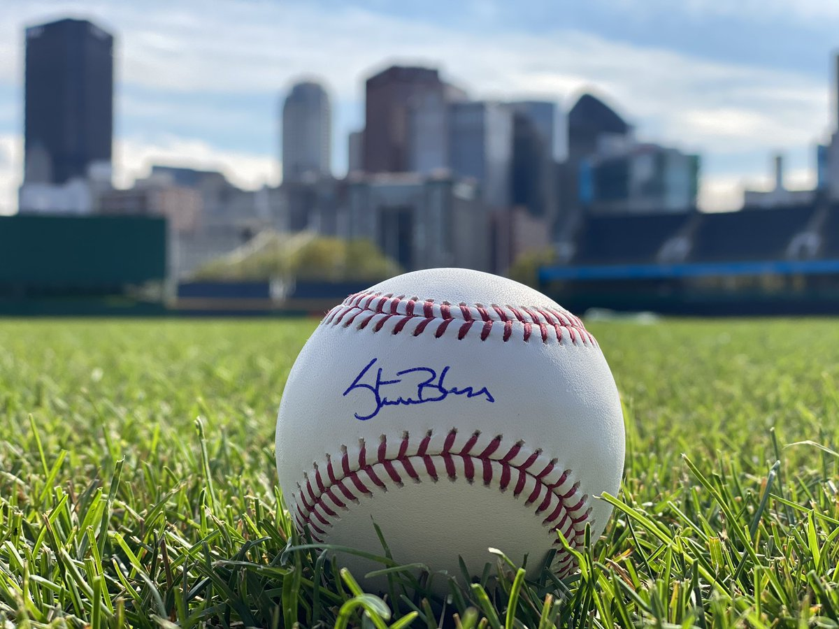 RETWEET THIS now for a chance to win a baseball signed by our very own Steve Blass!  On this date in 1971, Steve tossed a complete game to lead your Bucs to our fourth World Series Championship. https://t.co/4vkuwdOCru