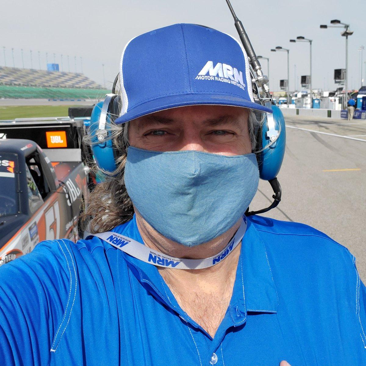 First Up! @NASCAR_Trucks on @MRNRadio ....3:30 et #AskMRN