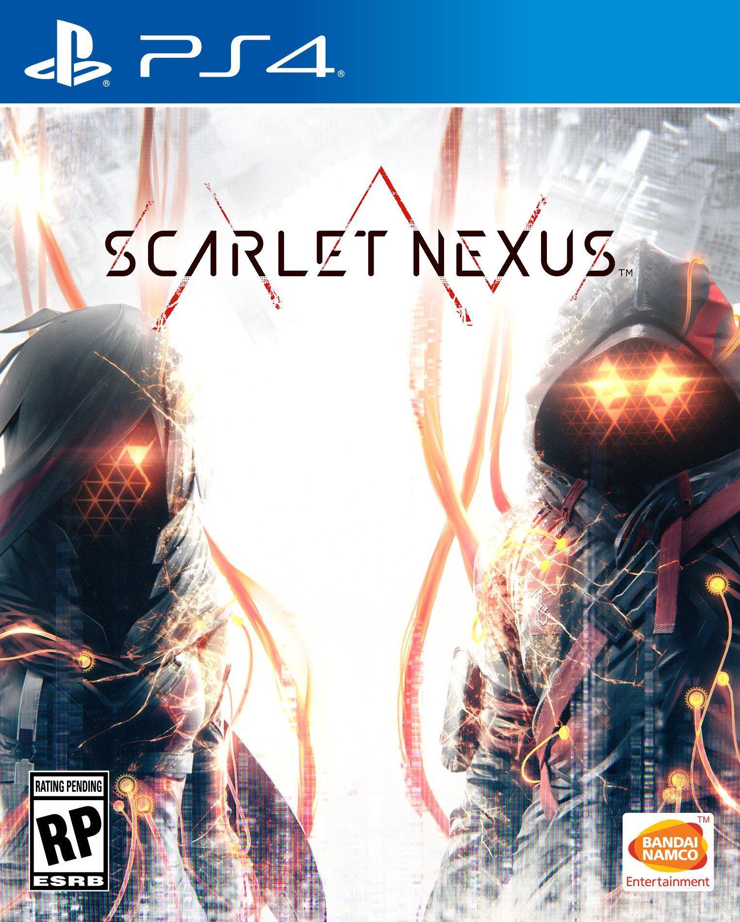Scarlet Nexus - okładka PS4