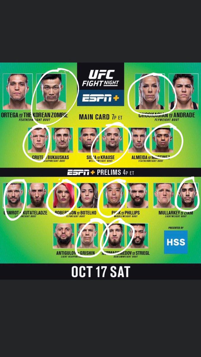 #UFCFightNight180 #UFConESPN38 #UFCFightIsland6 #UFC #USA #UAE #inabudhabi #themmaguru #ESPN #UFConESPN  #UFCFightNight #UFCFightIsland #ESPNplus #YasIsland https://t.co/aQVzKKp2on