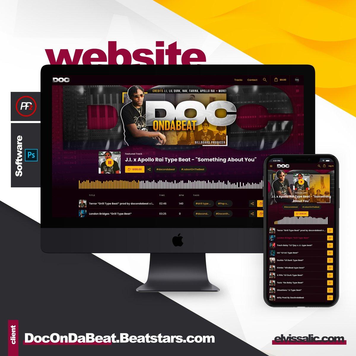 Beatstars Pro page 2 design for https://t.co/bsUCf4MpJ4  #graphic #design #graphicdesign #propage #beatstars #beats #music #artist #producer #sitedesign #photoshop #hiphop #designoftheday #hiphop #adobe #beatstars #propage #billboardproducer https://t.co/xmCOkf5iMw