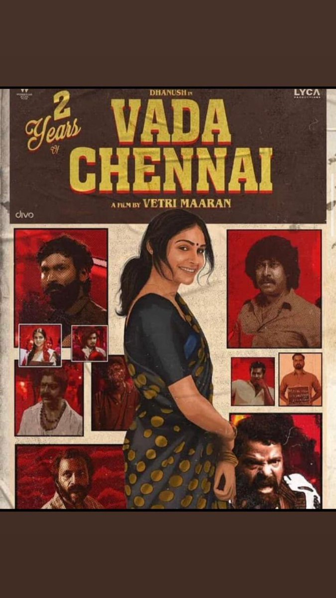 Two Years of #Vadachennai !! @dhanushkraja @VetriMaaran #2YearsOfEpicVadaChennai #2YearsOfVadaChennai https://t.co/VYPvQ1tvyc