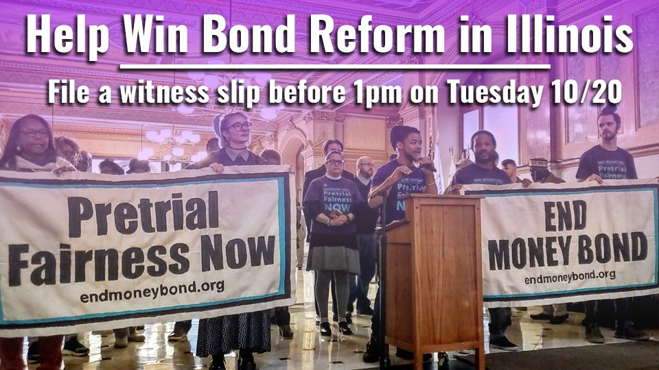 Hey friends, take a minute to let our elected officials know that NO ONE should be locked up for being poor! It's quick, easy and makes a difference! See the link to instructions below.