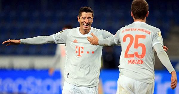 ⏯️VIDEO: Lewandowski y Müller se lucen con DOBLETES en goleada del Bayern Munich https://t.co/kuWpGWROSL https://t.co/eTOqeZMpNB