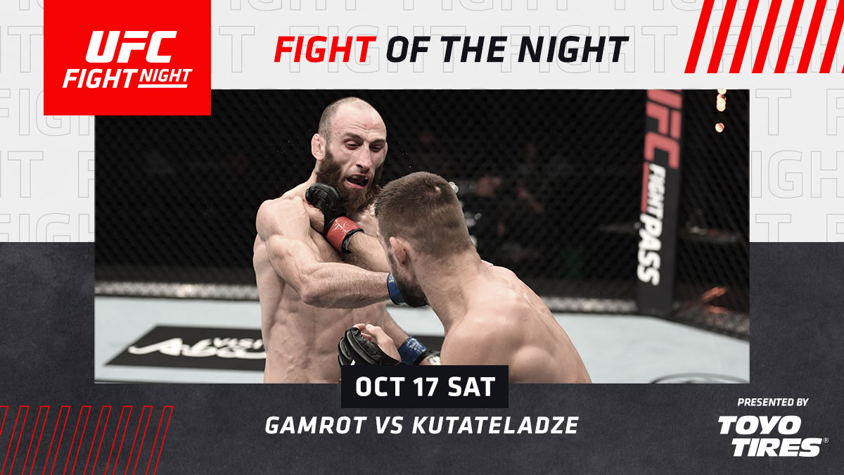 Not bad for two debuts!  💸 @Gamer_MMA & @Guram_DZE leave with something extra.  [ B2YB @ToyoTires ] #UFCFightIsland6 https://t.co/FKxcFo690v