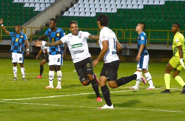 Liga BetPlay   Boyacá Chicó no pudo mantener su ventaja y empató contra Once Caldas  #LALIGAxWIN  https://t.co/llJNLn1iml https://t.co/prjboS0aib