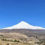 Image for the Tweet beginning: Damavand, the highest point in