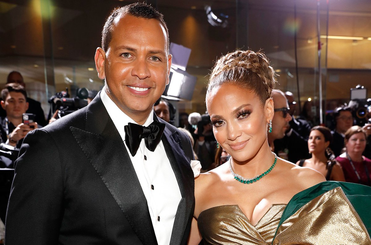 """""""We're thrilled and we're excited to vote,"""" @ARod and @JLo said in a chat with @JoeBiden blbrd.cm/5mBx04c"""